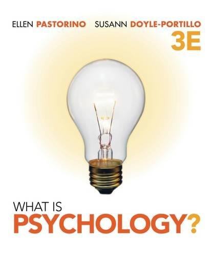 9781111343668: What is Psychology? (Available Titles Aplia)