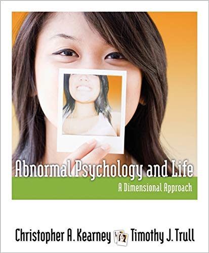 9781111343767: Abnormal Psychology and Life: A Dimensional Approach (PSY 254 Behavior Problems and Personality)