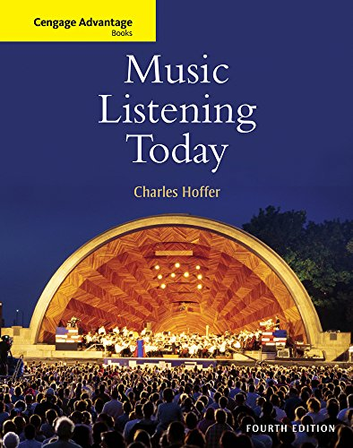 Music Listening Today (Cengage Advantage Books): Hoffer, Charles