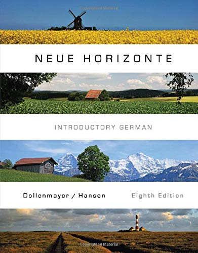 Neue Horizonte: Dollenmayer, David; Hansen, Thomas
