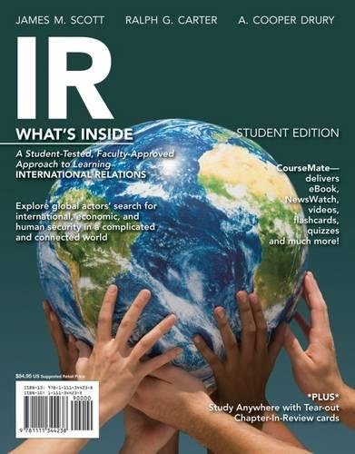 IR, 2014 Edition (with Political Science CourseMate: Scott, James M.,
