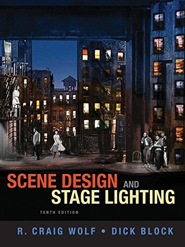 9781111344436: Scene Design and Stage Lighting