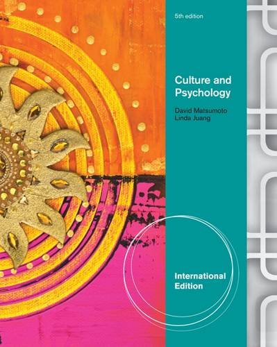 9781111344948: Culture and Psychology