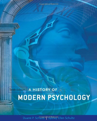 9781111344979: A History of Modern Psychology