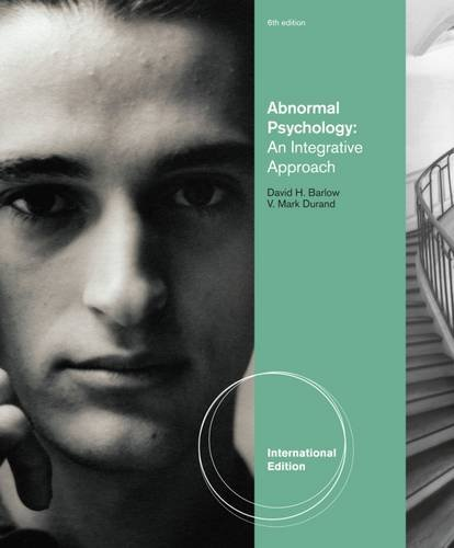 9781111345204: Abnormal Psychology: An Integrative Approach, International Edition (with CourseMate Printed Access Card)
