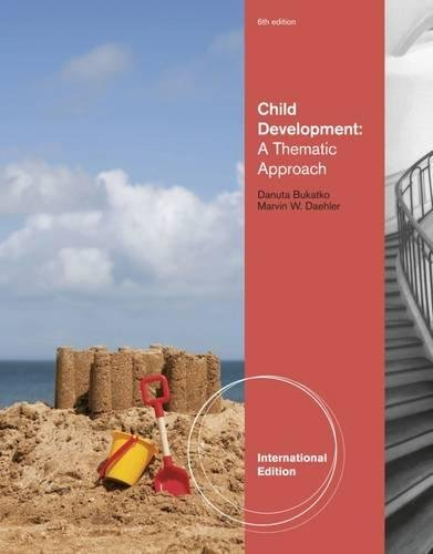 9781111345334: Child Development: A Thematic Approach