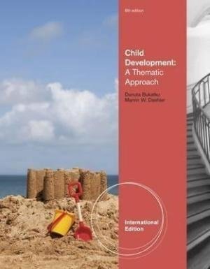 9781111345334: Child Development: A Thematic Approach - International Edition, 6th edition
