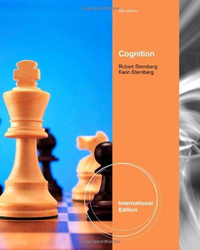 Cognition: Sternberg, Robert