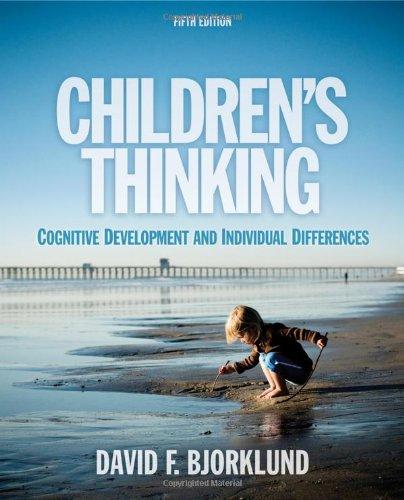 9781111346058: Children's Thinking