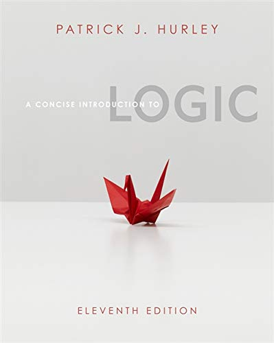 9781111346232: A Concise Introduction to Logic