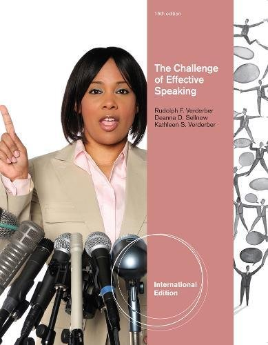 9781111346881: The Challenge of Effective Speaking