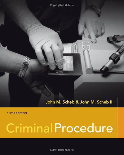 9781111346973: Criminal Procedure