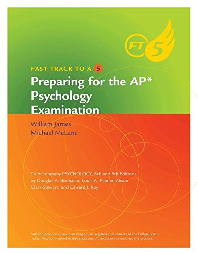 9781111347581: Fast Track to a Five: Preparing for the AP* Psychology Examination