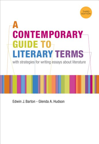 A Contemporary Guide to Literary Terms 9781111347956 A CONTEMPORARY GUIDE TO LITERARY TERMS is a brief, inexpensive, and accessible handbook of literary terms for a full range of courses, including introduction to literature, literature for composition, American literature, British literature, and Shakespeare. In clear, concise, and user-friendly language, the text highlights its entries with contemporary, multicultural examples. This third edition features more terms and new entries for all periods of literary history.