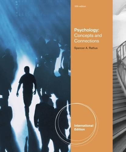 9781111347987: Psychology Concepts and Connections