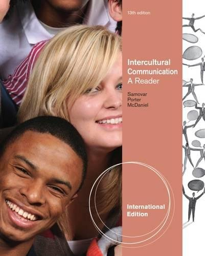 9781111348151: Intercultural Communication: A Reader, International Edition