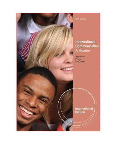 9781111348151: Intercultural Communication : A Reader