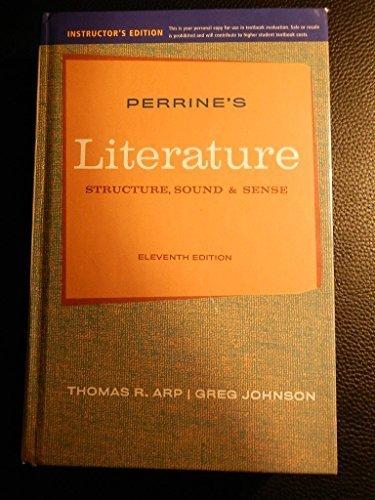 9781111348229: Ie Perrines Literature 11e