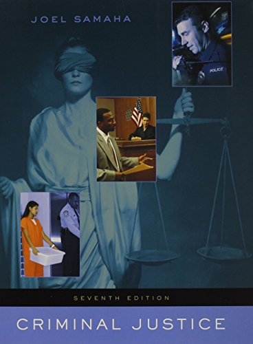 9781111348328: Criminal Justice (with Infotrac)