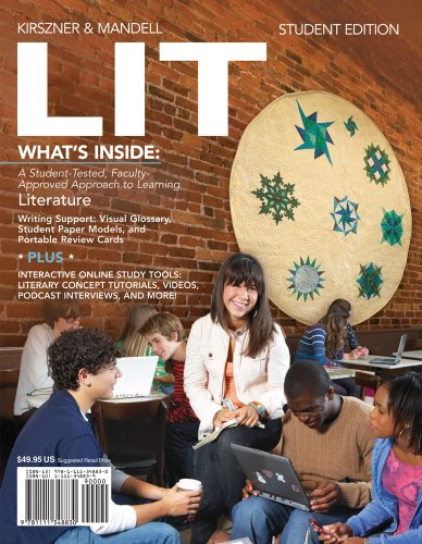 LIT (with CourseMate Printed Access Card): Laurie G. Kirszner,