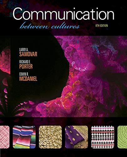 Communication Between Cultures: Richard E. Porter
