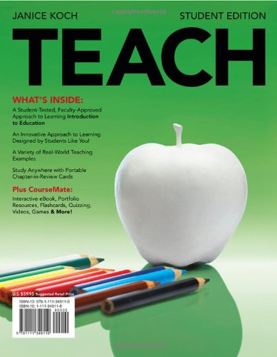 9781111349110: TEACH (with Review Card and Education CourseMate with eBook Printed Access Card) (What's New in Education)