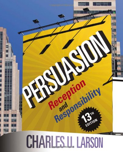9781111349271: Persuasion: Reception and Responsibility