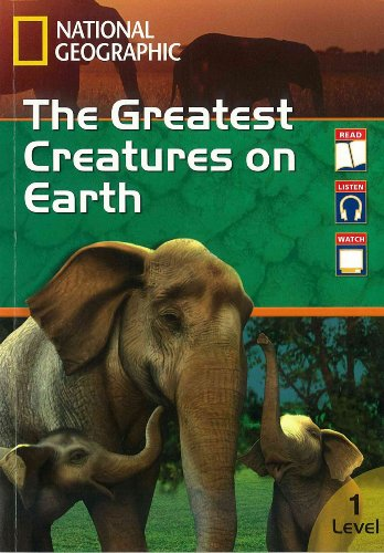 9781111349776: The Greatest Creatures on Earth (3-in-1 Combination Readers)