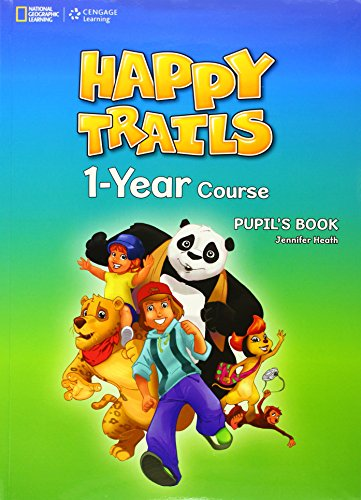 9781111350079: Happy Trails: One-Year Course Pupil's Book with Starter Booklet and Audio CD