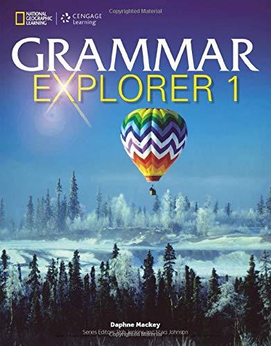 9781111350192: Grammar Explorer 1