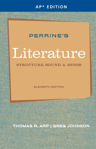 Perrine's Literature: Structure, Sound & Sense (AP Edition) (111135152X) by Greg Johnson; Thomas R. Arp