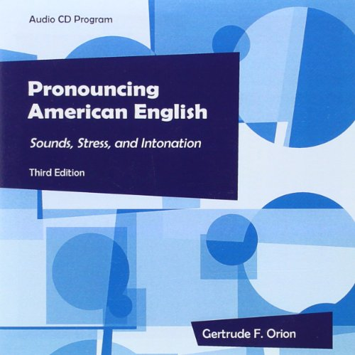 Pronouncing American English Audion CDs: Gertrude F Orion
