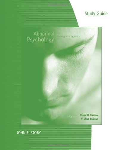 study guide abnormal psychology Exam 2 – study guide psy 210-abnormal psychology professor jennings the exam will be 50 multiple-choice questions most of the questions will be based on material covered in.