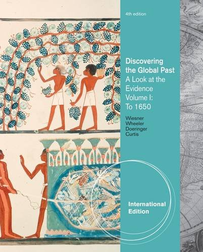 9781111355982: Discovering the Global Past: Volume I