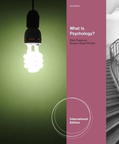 9781111356590: What is Psychology?