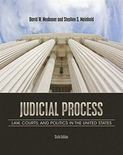 9781111357566: Judicial Process: Law, Courts, and Politics in the United States