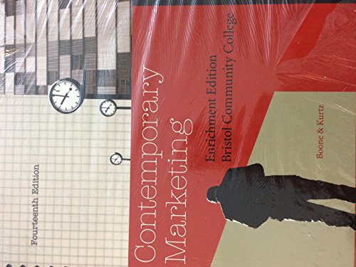 9781111398880: Contemporary Marketing - Enrichment Edition - Fourteenth Edition - Bristol Community College