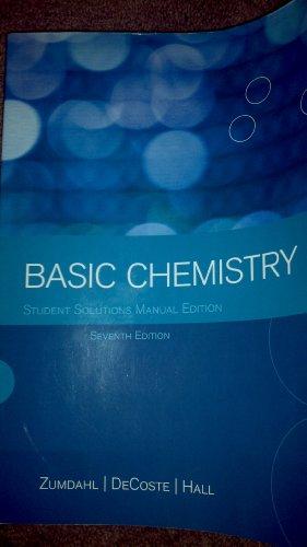 9781111400026: Basic Chemistry