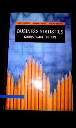 9781111400200: Business Statistics