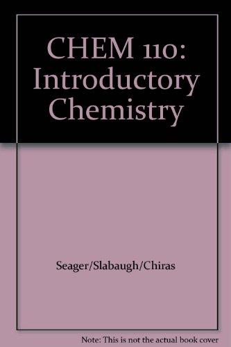 CHEM 110: Introductory Chemistry