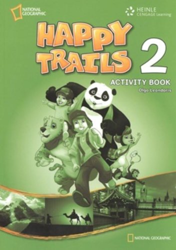 Happy Trails 2 Activity Book: Heath, Linda