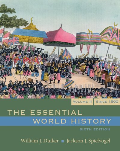 9781111412289: Bundle: The Essential World History, Volume II, 6th + Rand McNally Historical Atlas