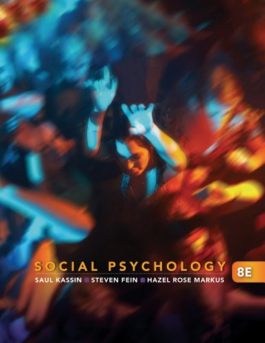9781111415129: Social Psychology 8e + Readings in Social Psychology: The Art and Science of Research