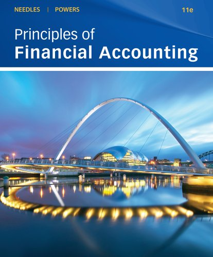 Bundle: Principles of Financial Accounting, 11th + WebTutor(TM) on WebCT(TM) Printed Access Card (1111415811) by Belverd E. Needles; Marian Powers