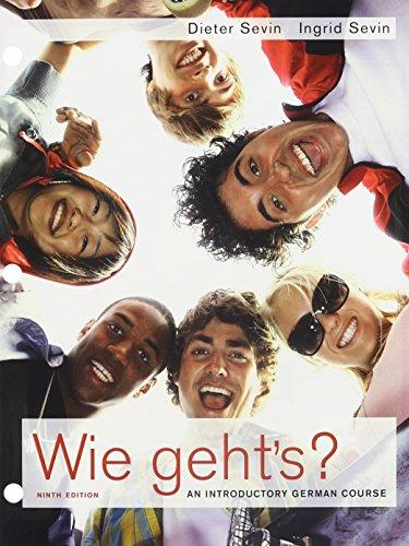 9781111423827: Bundle: Wie geht's?, 9th + Quia Printed Access Card