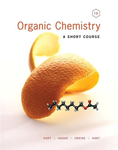 9781111425562: Organic Chemistry: A Short Course (Available Titles Owl)