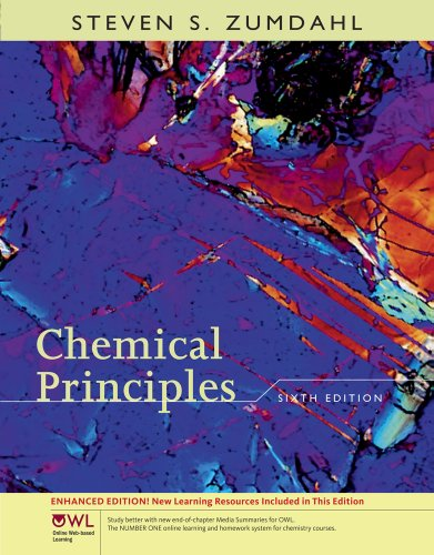 9781111426309: Student Solutions Manual for Zumdahl's Chemical Principles with OWL, Enhanced Edition, 6th