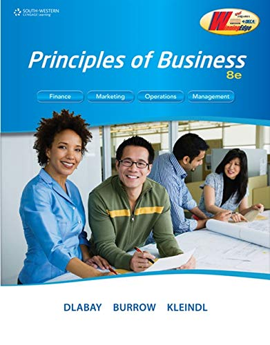 Principles of Business (Marketing (modified)): Dlabay, Les; Burrow,