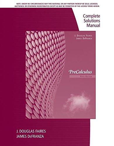 9781111427351: Csm Precalculus 5e