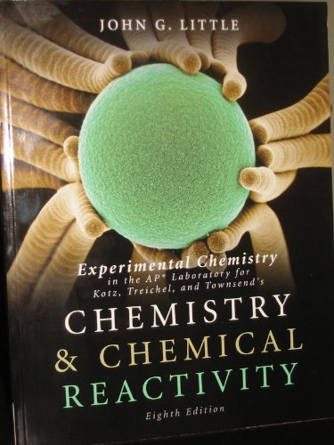 9781111427610: Experimental Chemistry in the AP Laboratory for Kotz, Treichel, and Townsend's: Chemistry and Chemical Reactivity, 8th edition